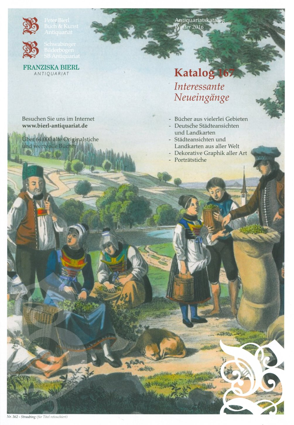 Katalog 167 - Interessante Neueingänge