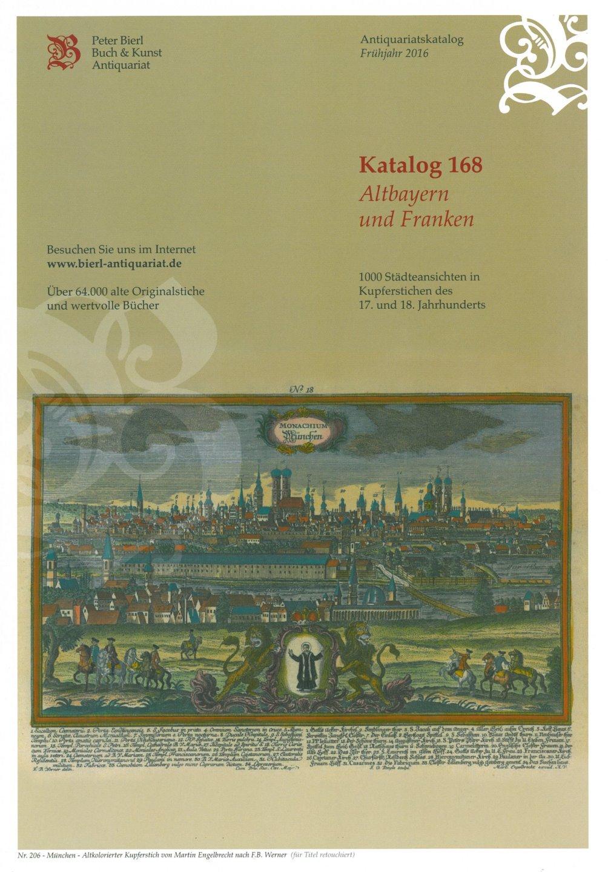 Katalog 168 - Altbayern und Franken