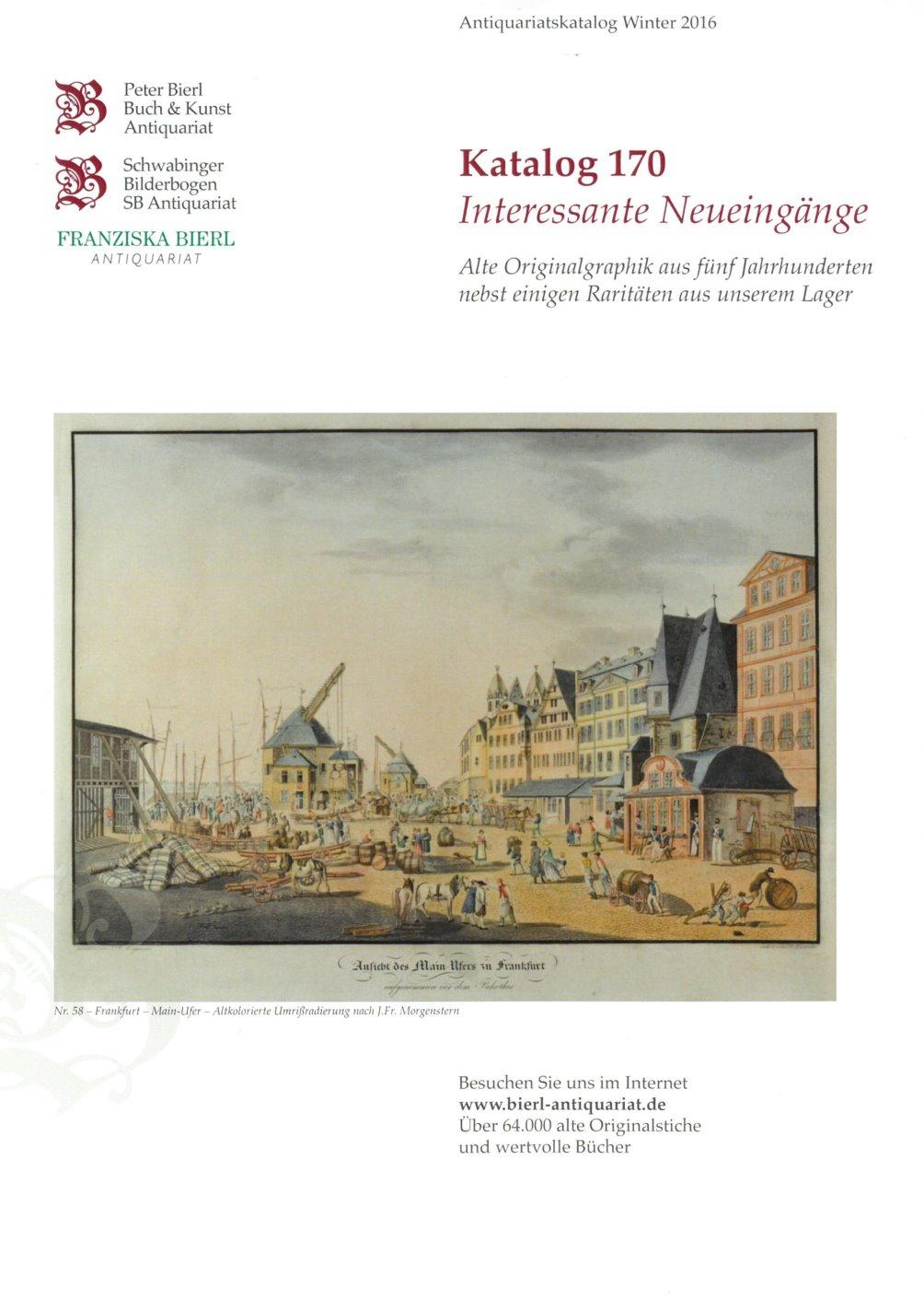 Katalog 170 - Interessante Neueingänge