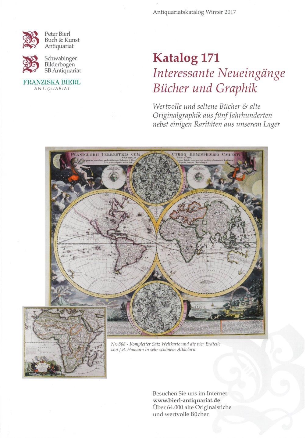 Katalog 171 - Interessante Neueingänge