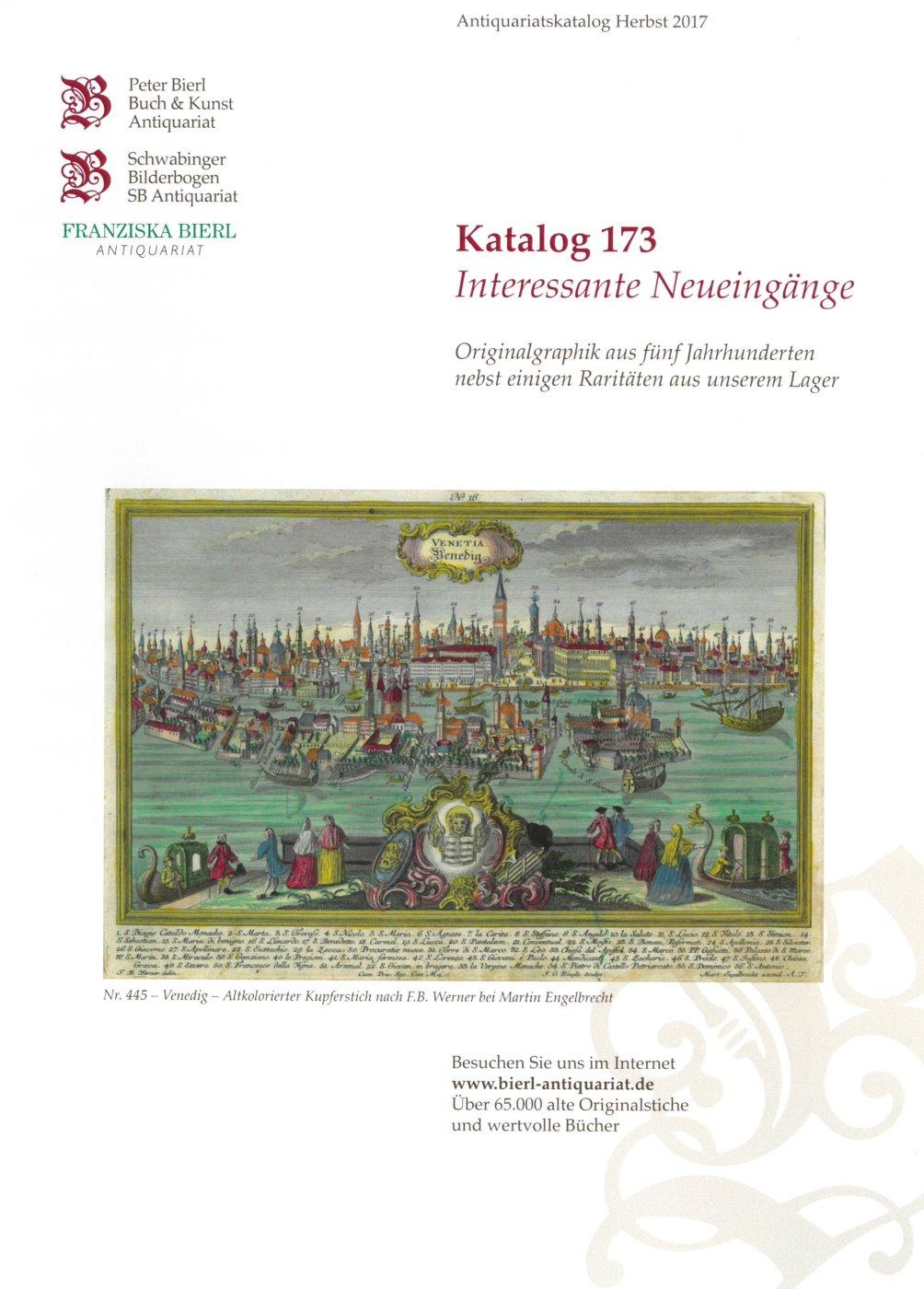 Katalog 173 - Interessante Neueingänge