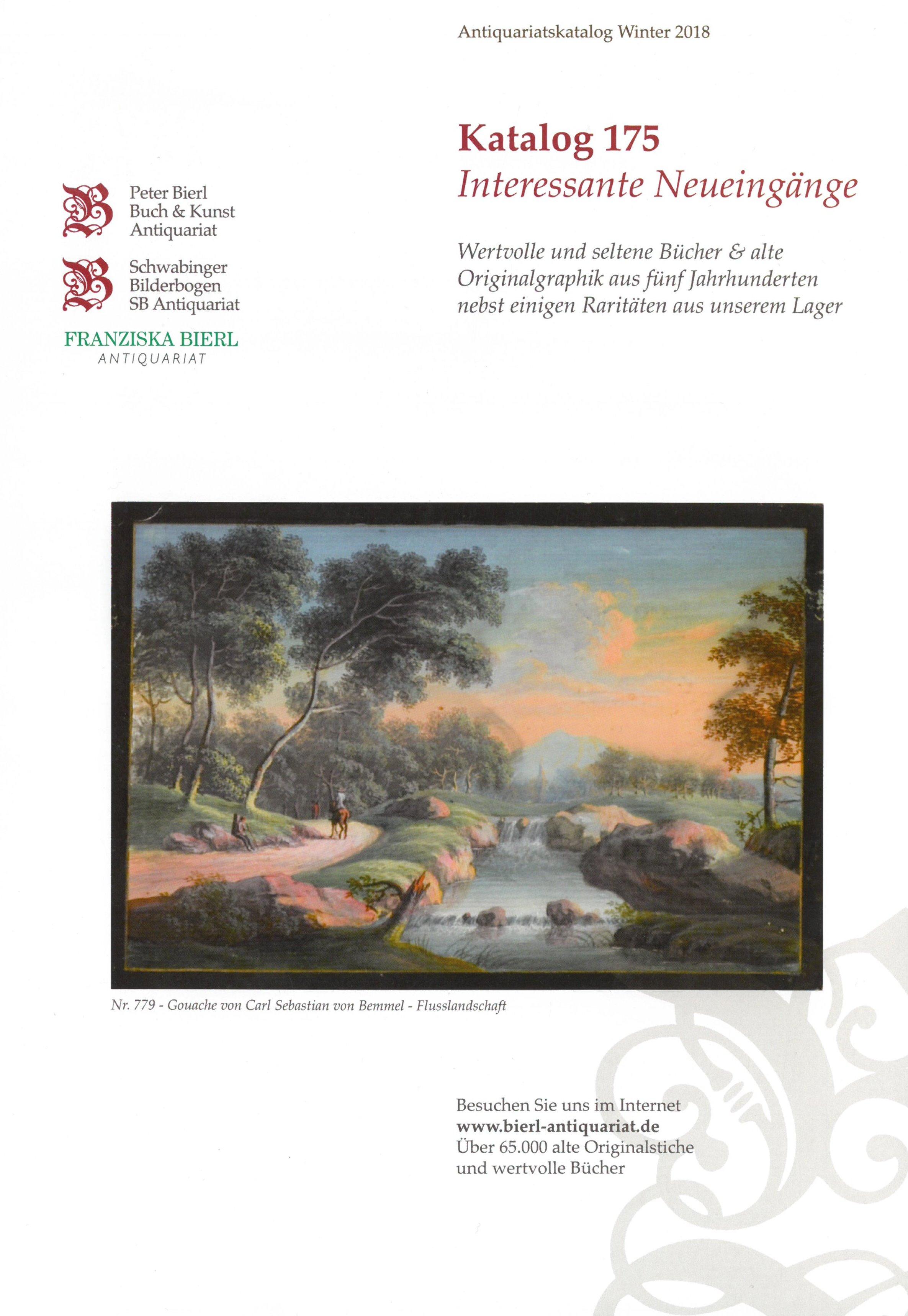 Katalog 175 - Interessante Neueingänge