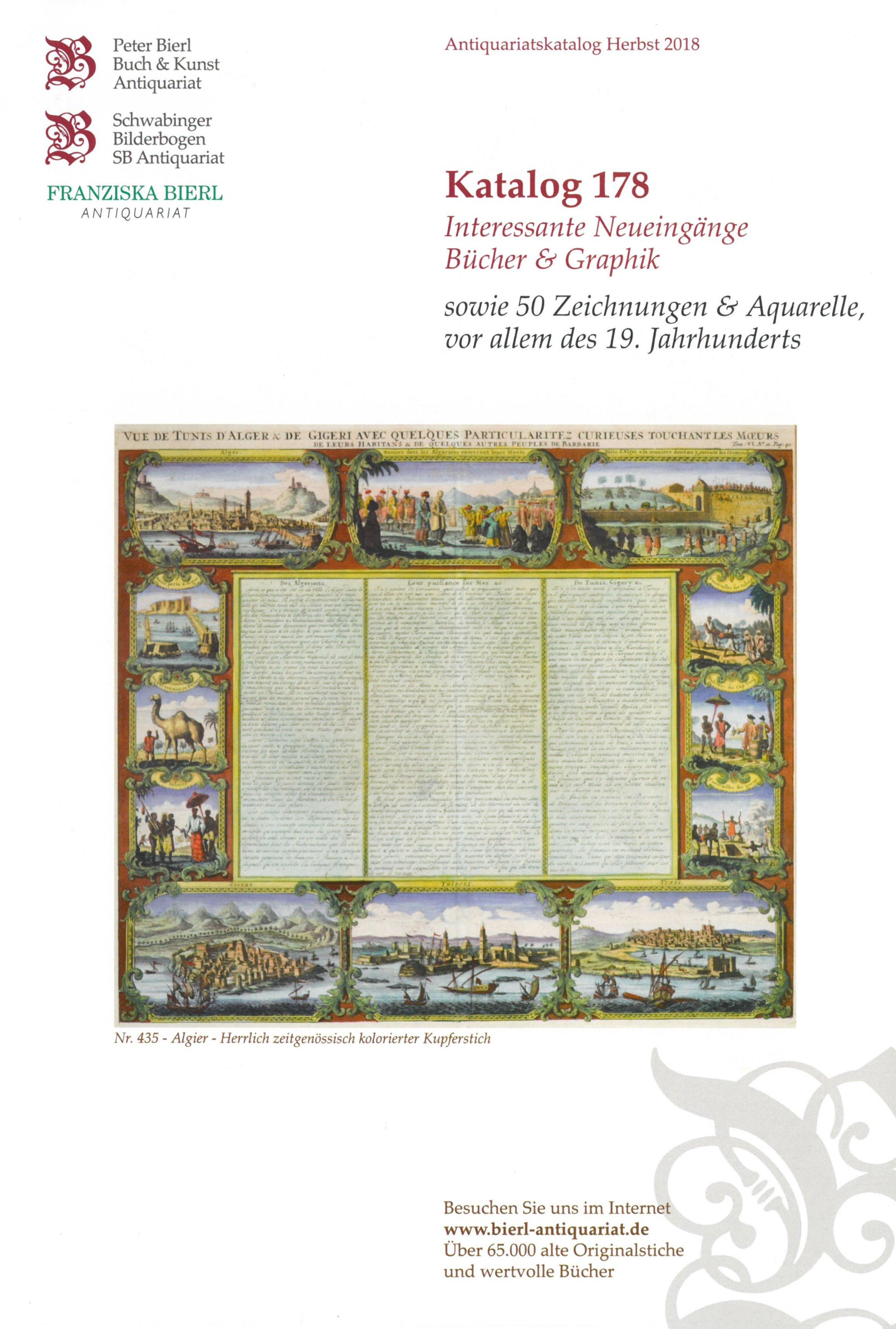 Katalog 178 - Interessante Neueingänge