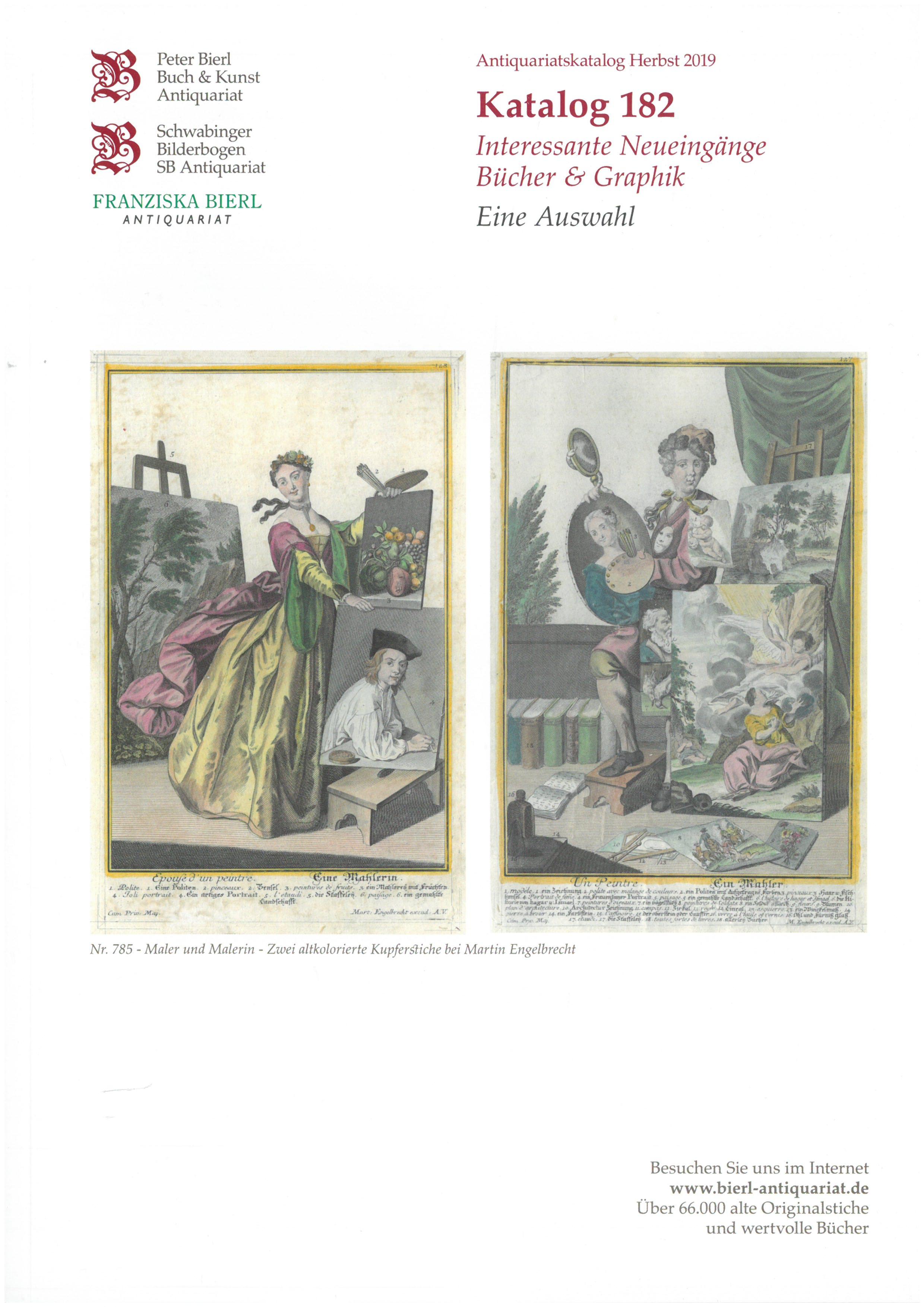 Katalog 182 - Interessante Neueingänge