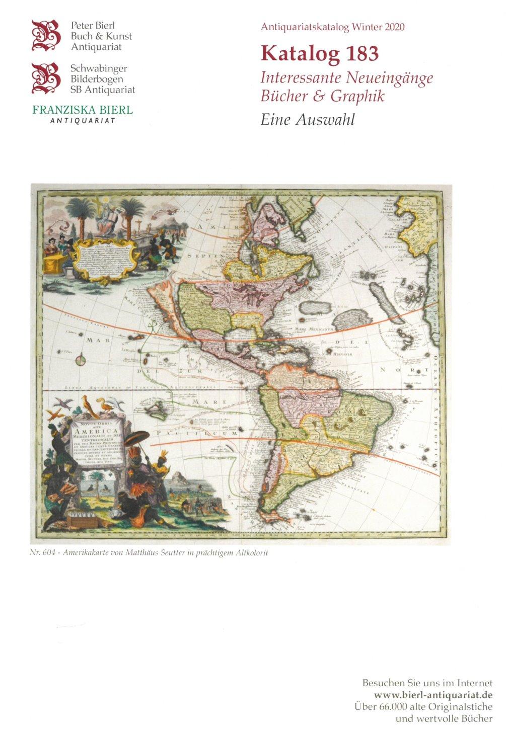 Katalog 183 - Interessante Neueingänge