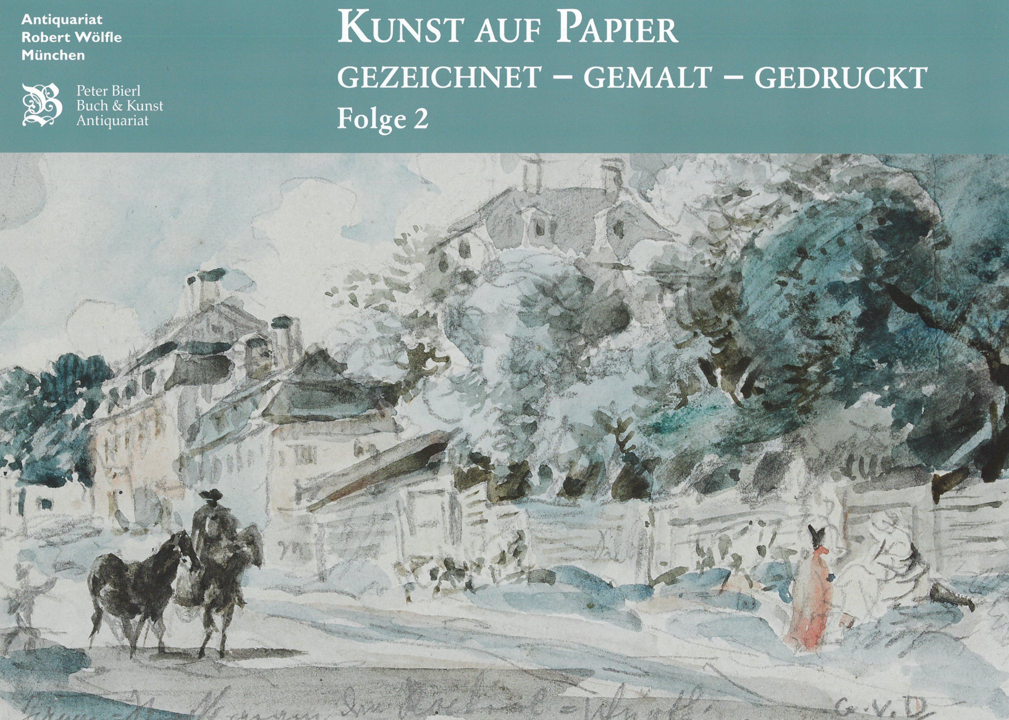 Gemeinschaftskatalog - Kunst auf Papier - Gezeichnet - Gemalt - Gedruckt (Sommer 2020)